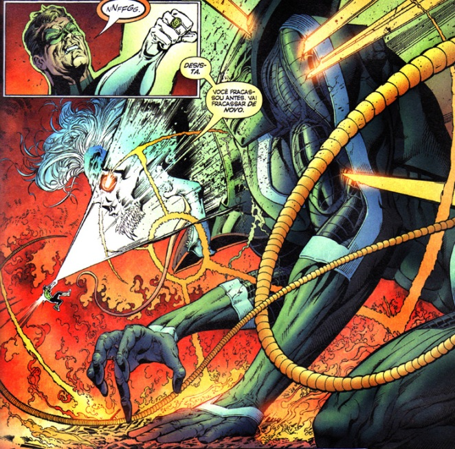 Hal finalmente esmurra o bicho que o corroeu por dentro durante anos...